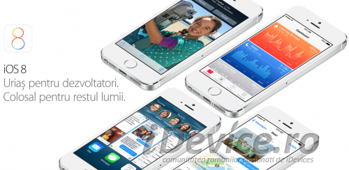 iOS 8 romana - iDevice.ro