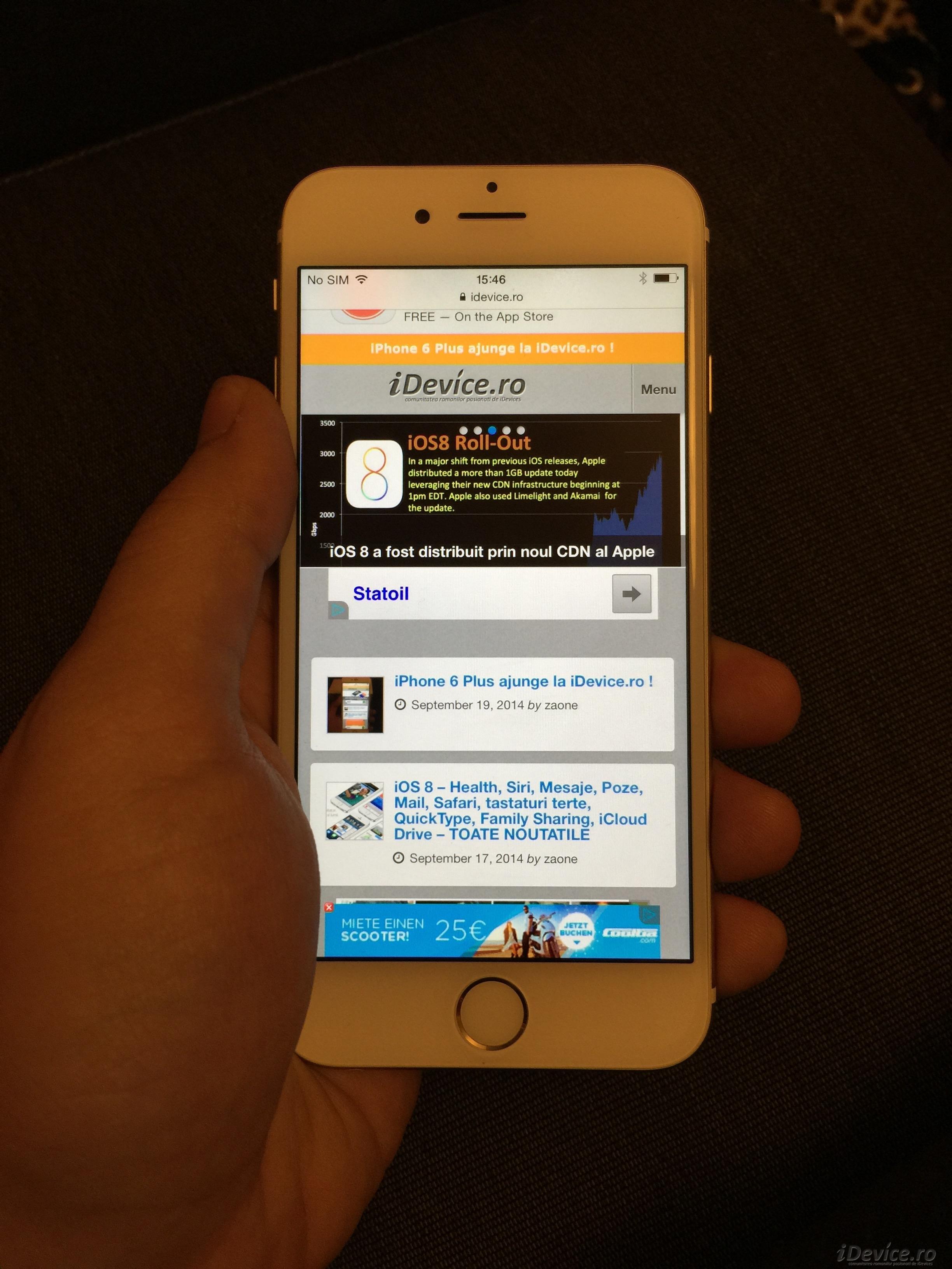 iPhone 6 la iDevice.ro