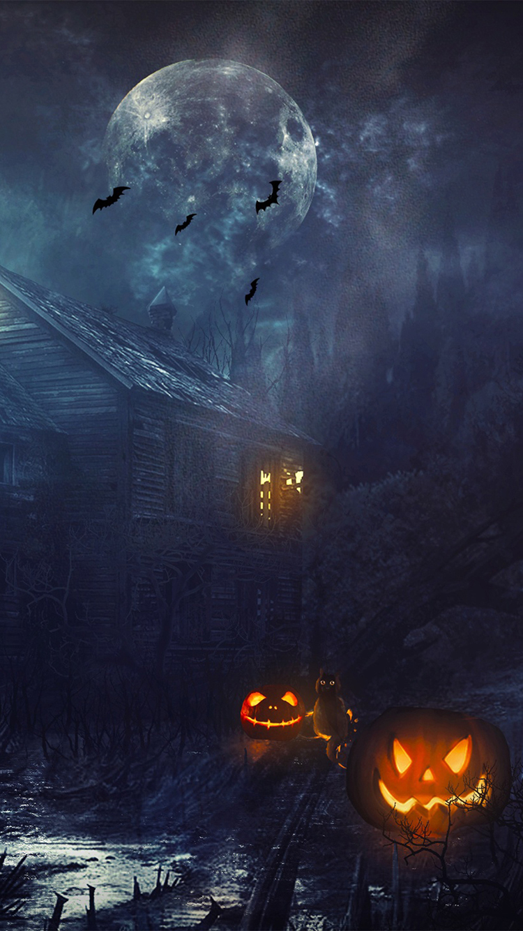 Halloween 2014 Wallpaper Pentru Iphone 6 Si Iphone 6 Plus