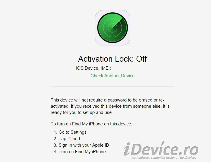 how to activitate find my iphone on my ipad