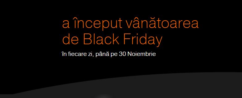 Orange Black Friday