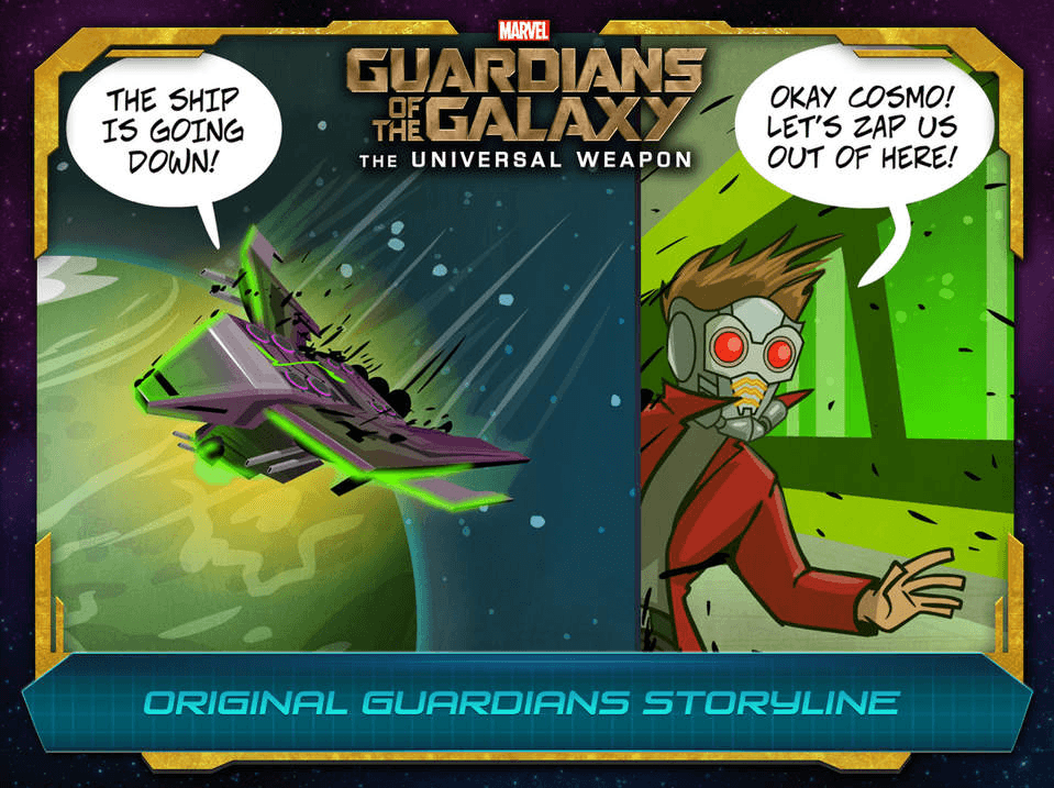 Guardians of the Galaxy The Universal Weapon