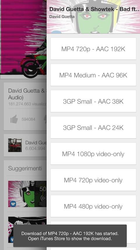 Descarca clipuri video YouTube