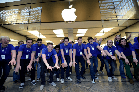 Salariile angajatilor Apple
