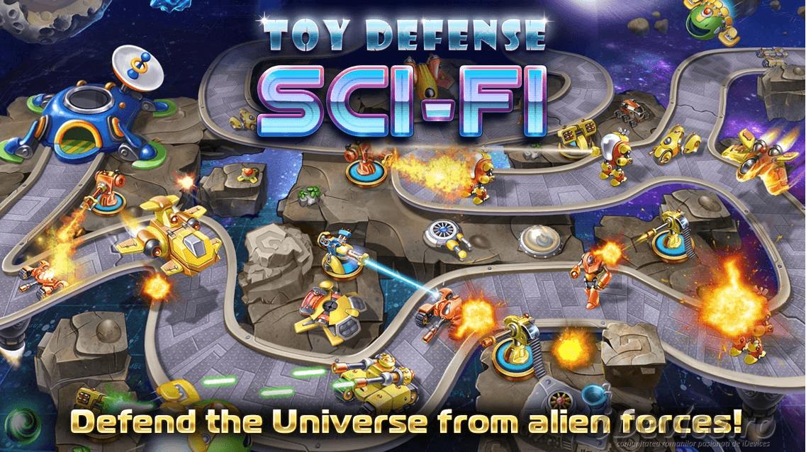 Toy Defense 4 Sci-Fi