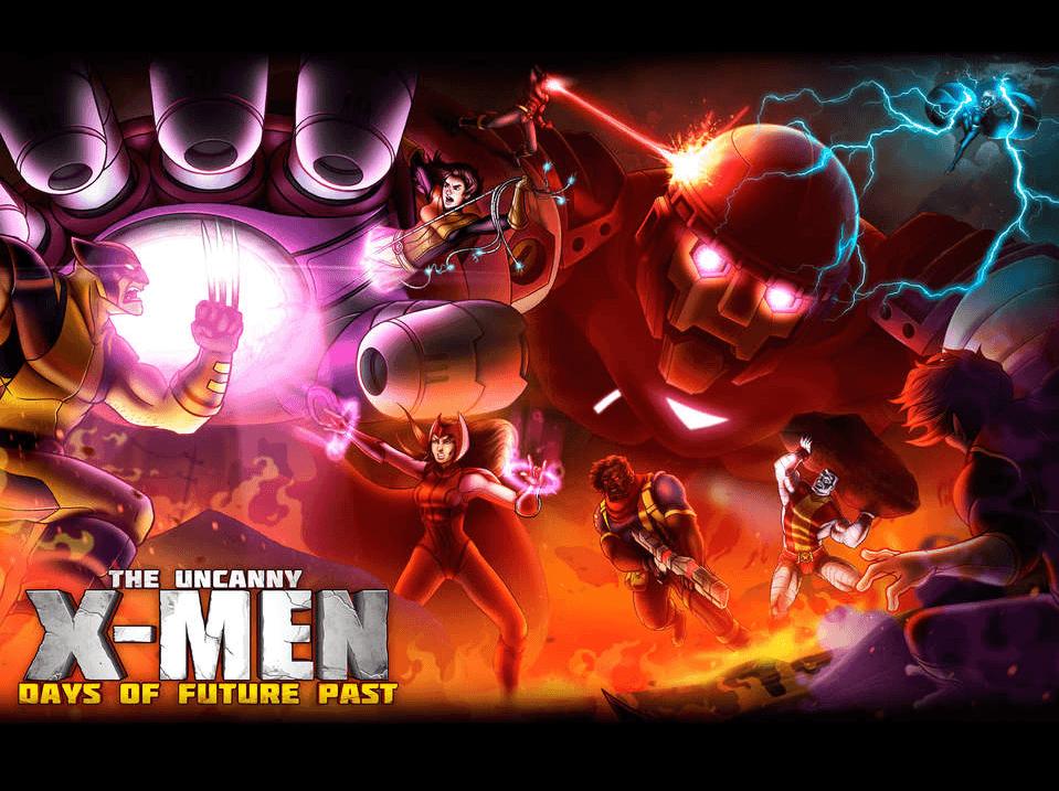 Uncanny X-Men Days of Future Past