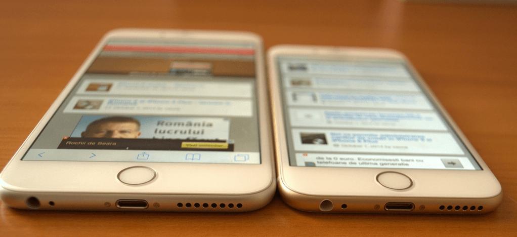 iPhone 6 si iPhone 6 Plus hero