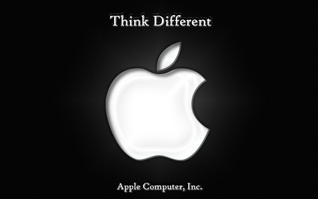 Apple Logo Think Different