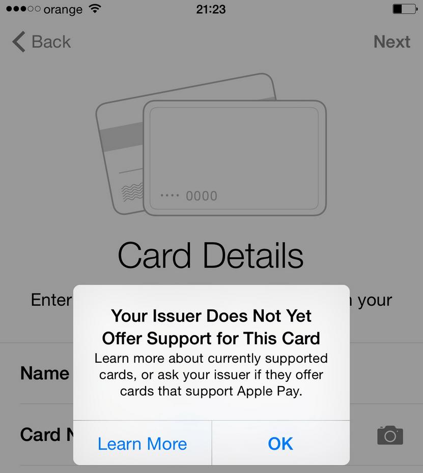 Apple Pay Romania