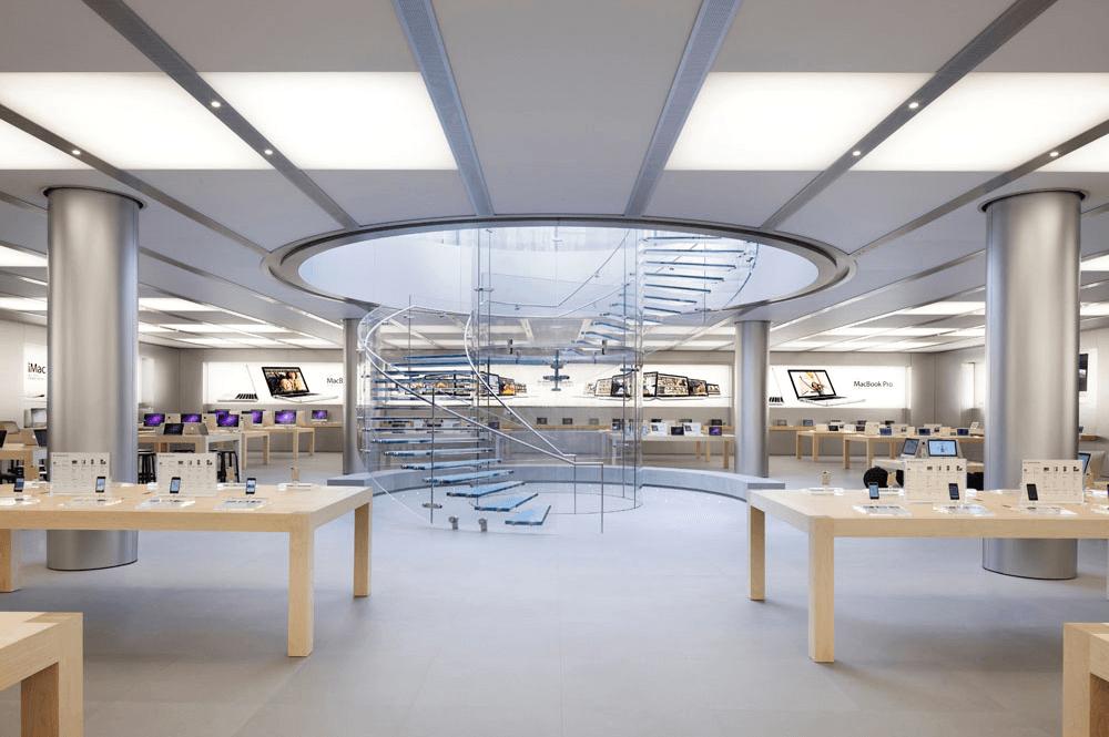 Apple Store designeri vestimentari