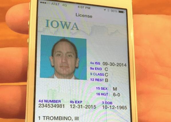 Carnet de conducere smartphone