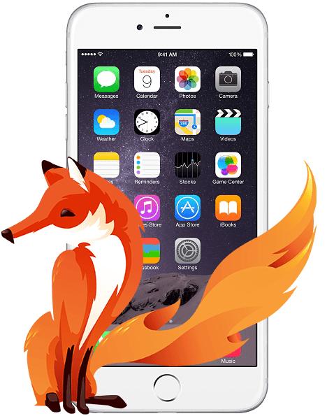 Firefox iPhone iOS