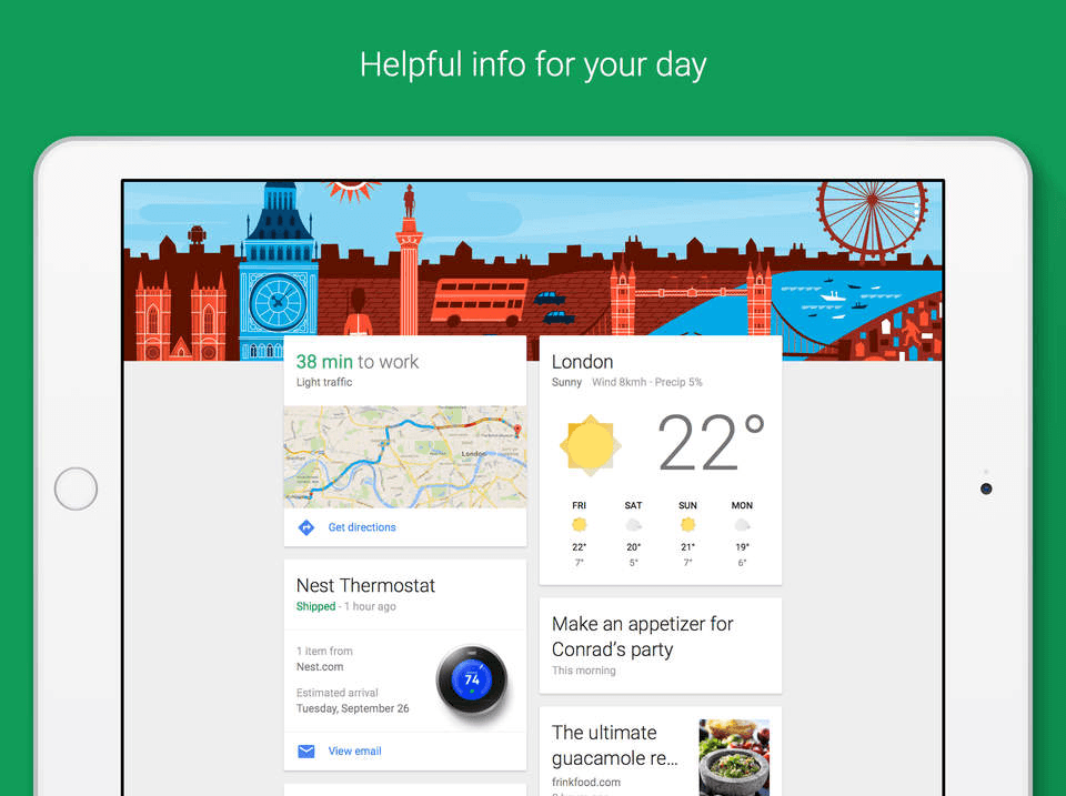 Google iOS aplicatie