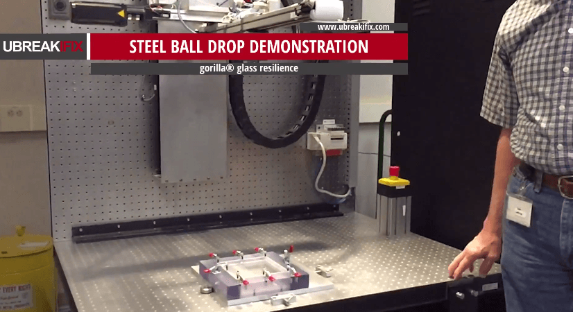 Gorilla Glass laborator testare