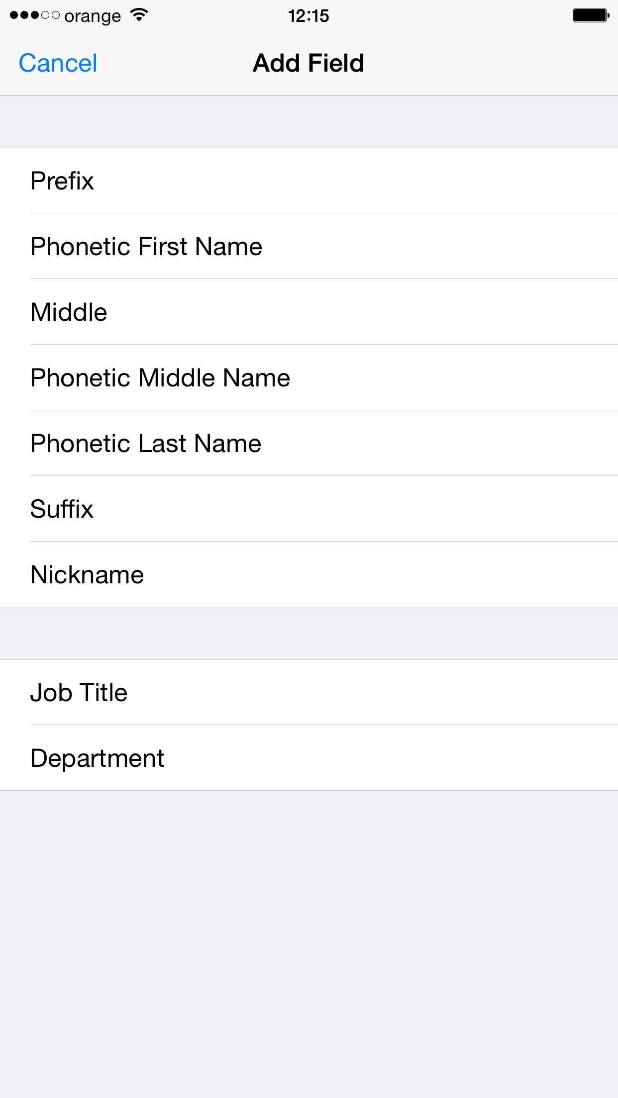 Invata Siri sa recunoasca numele contactelor 1