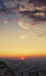 Mountains-Cordillera-Sky-Sunset-Sun-Clouds-iphone-4s