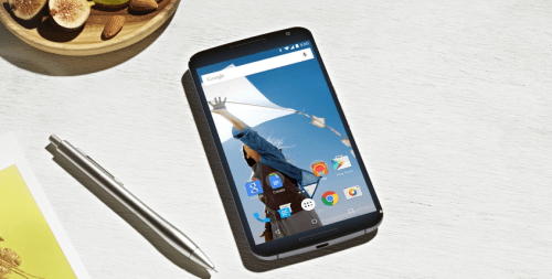 Nexus 6 cititor amprenta
