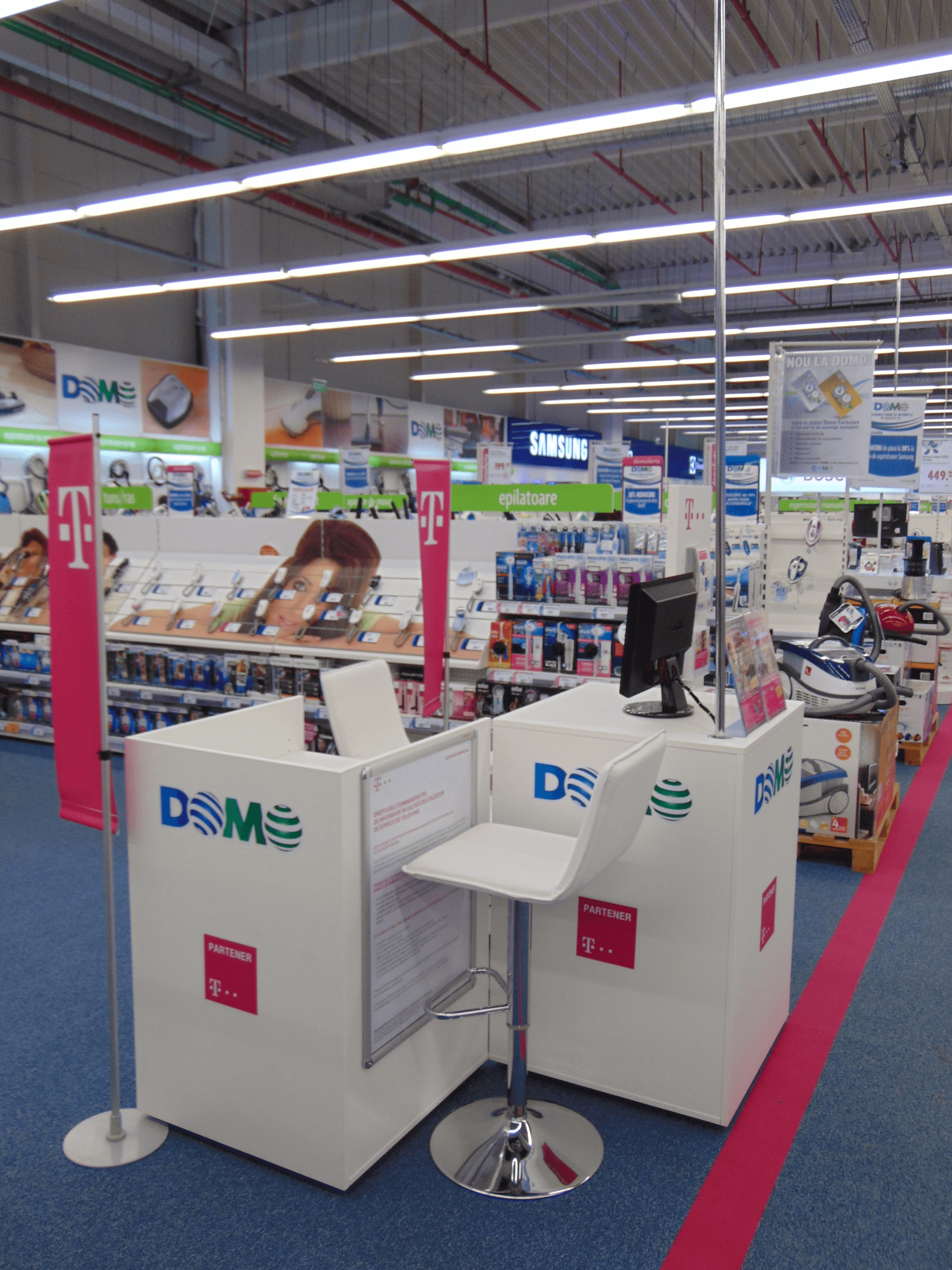 Parteneriat Telekom Domo