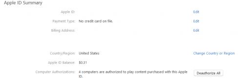 Schimb tara Apple ID iTunes 2