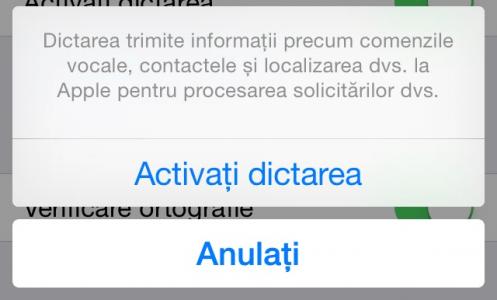 Siri in romana