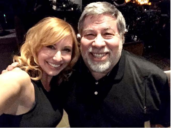 Steve Wozniak Kari Byron