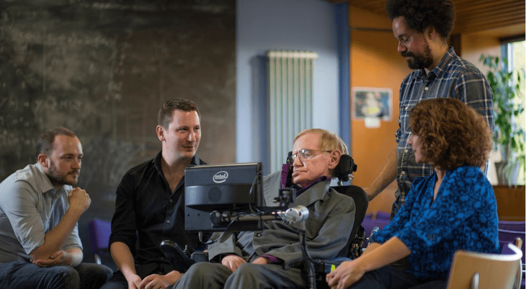 Swiftkey Stephen Hawking