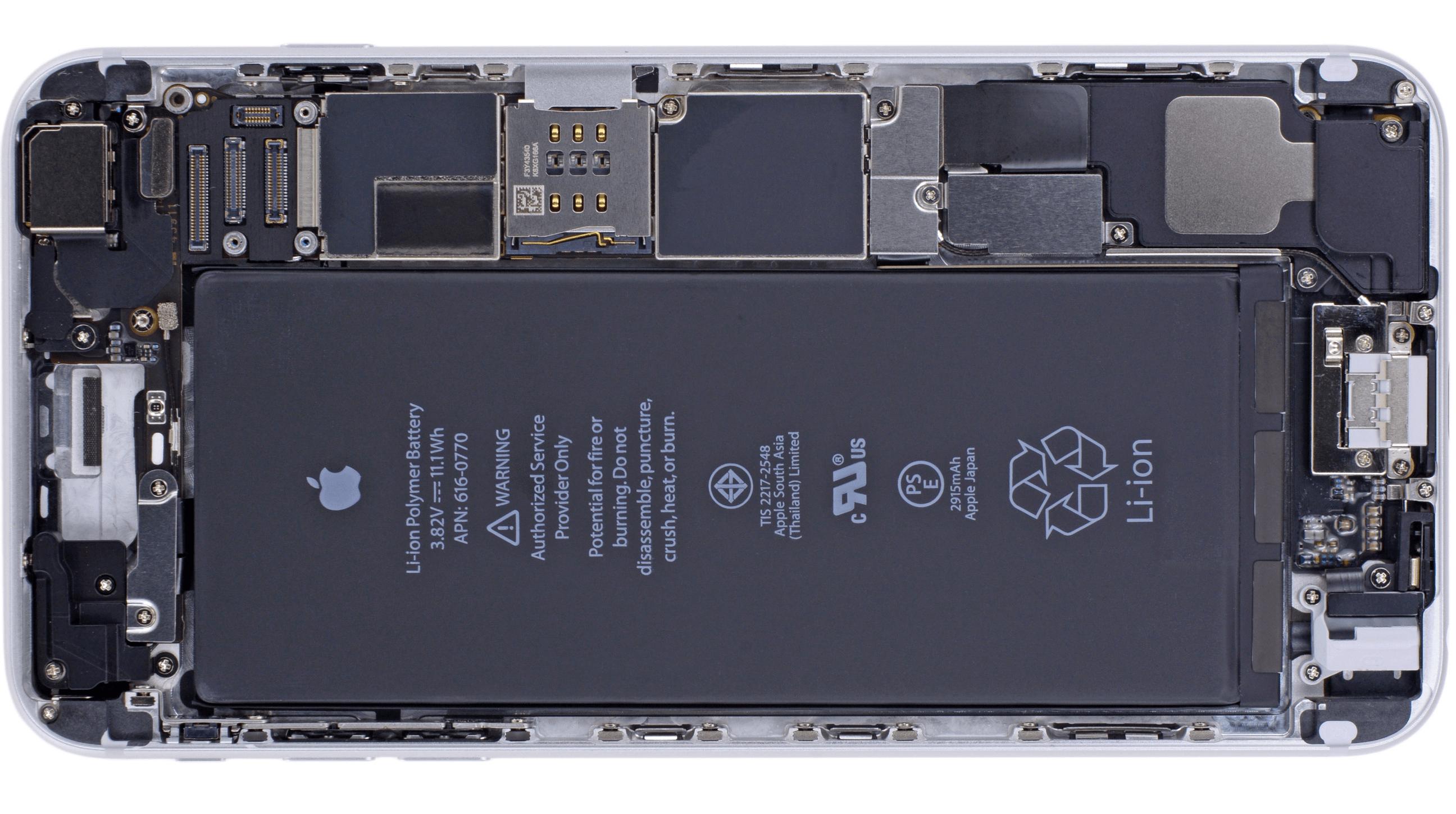 Wallpaper componente interne iPhone 6