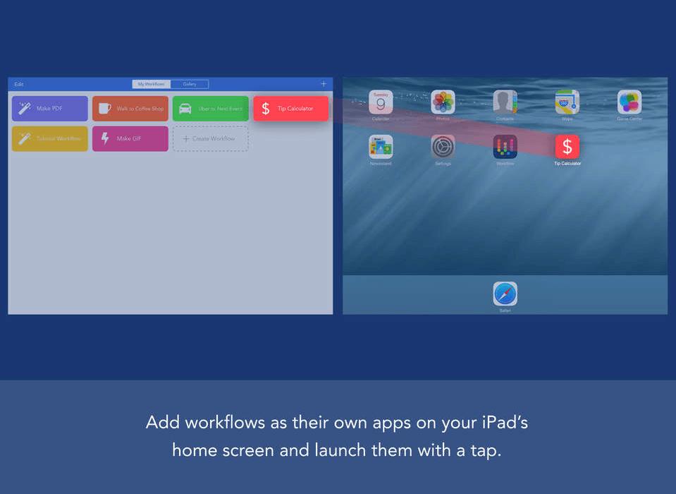 Workflow cea mai buna aplicatie a saptamanii