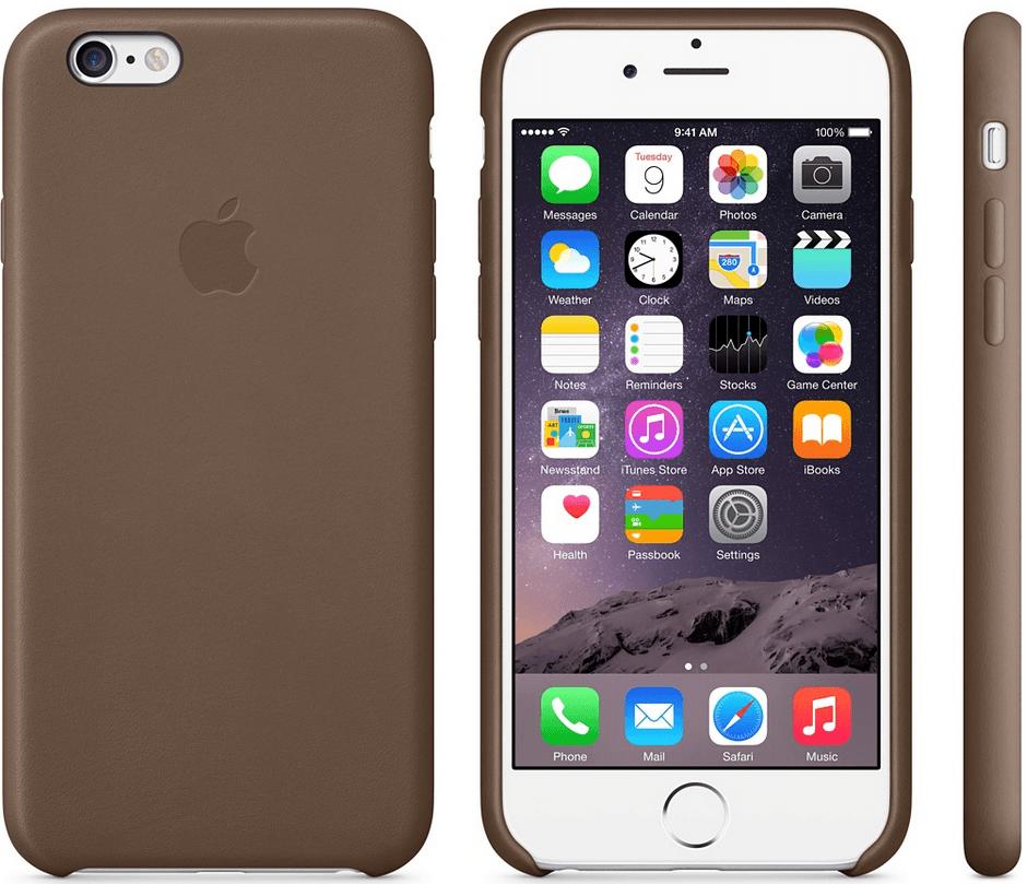 carcasa piele iPhone 6 Plus