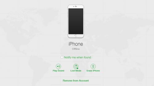 dezactivare Find My iPhone fara acces la iPhone sau iPad