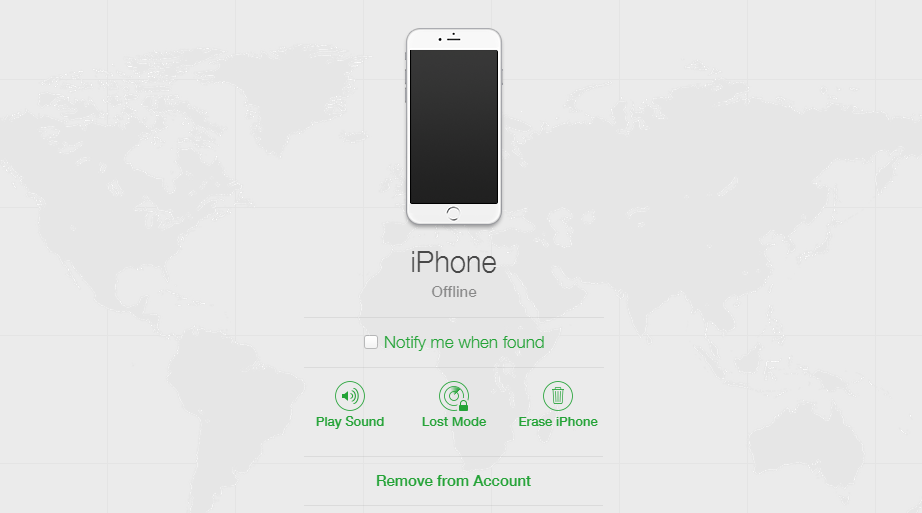 dezactivare Find My iPhone fara acces la iPhone sau iPad