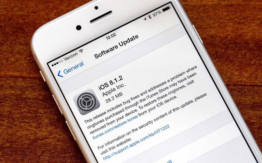 iOS 8.1.2 probleme