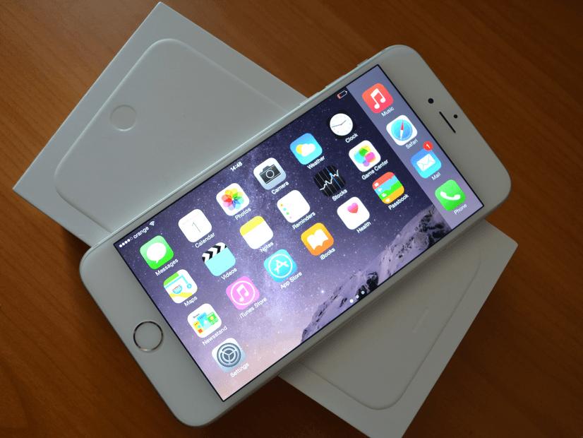 iPhone 6 Plus incarcare