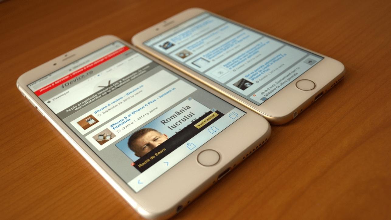 iPhone 6 si iPhone 6 Plus prezentare
