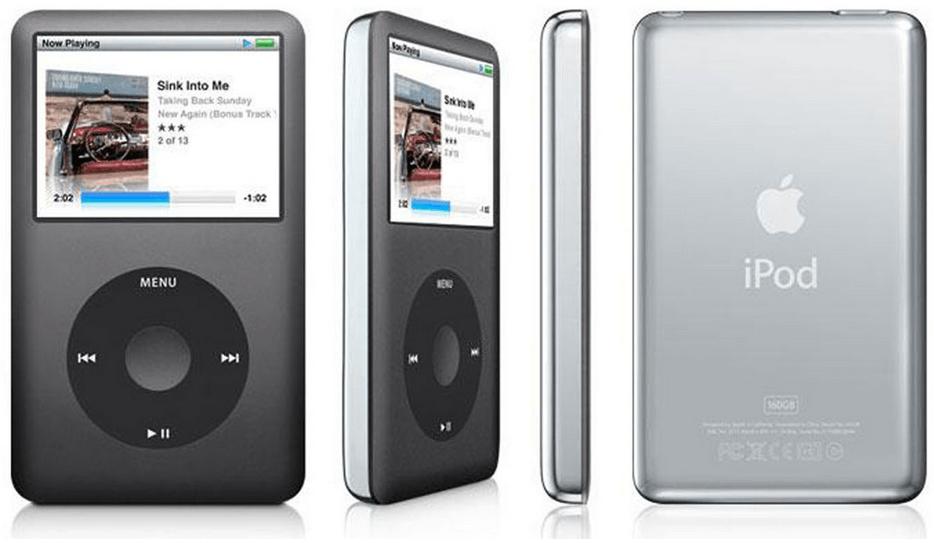 iPod Clasic muzica stearsa