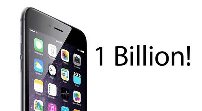 1 miliard iPhone, iPad si iPod Touch