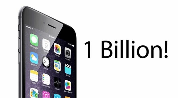 1 miliard iPhone, iPad si iPod Touch