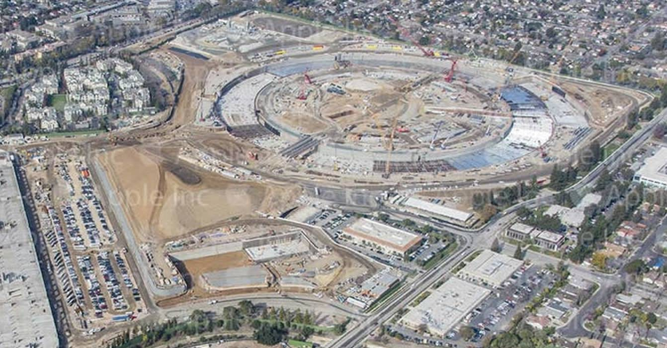 Apple Campus 2 constructie