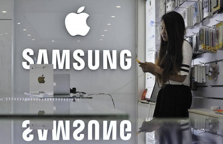Apple Samsung China