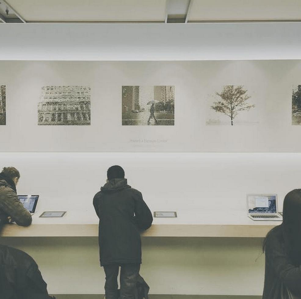 Apple Store galerie de arta 1