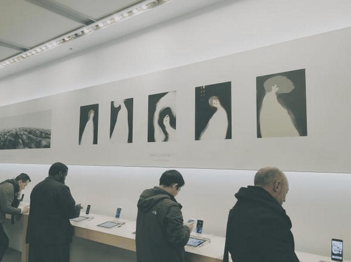 Apple Store galerie de arta 2