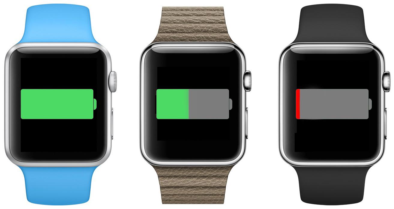Apple Watch baterie procesor