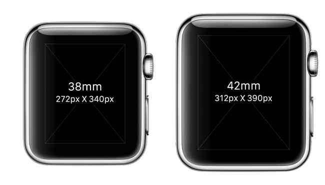 Apple Watch format