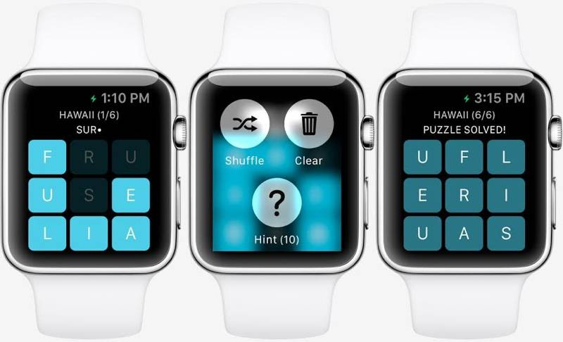 Apple Watch primul joc