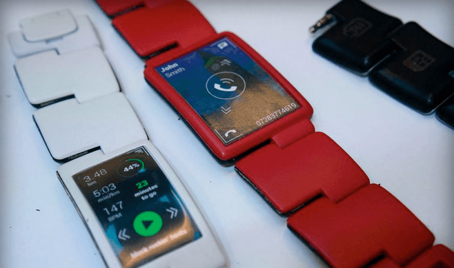 Blocks smartwatch CES 2015