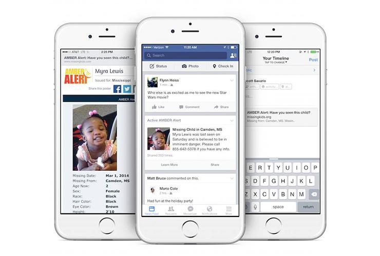 Facebook alerta persoane disparute