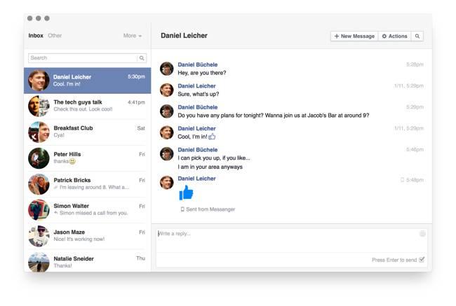 Goofy Facebook Messenger Mac