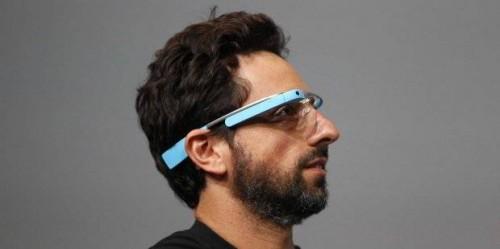 Google Glass Serghey Brin