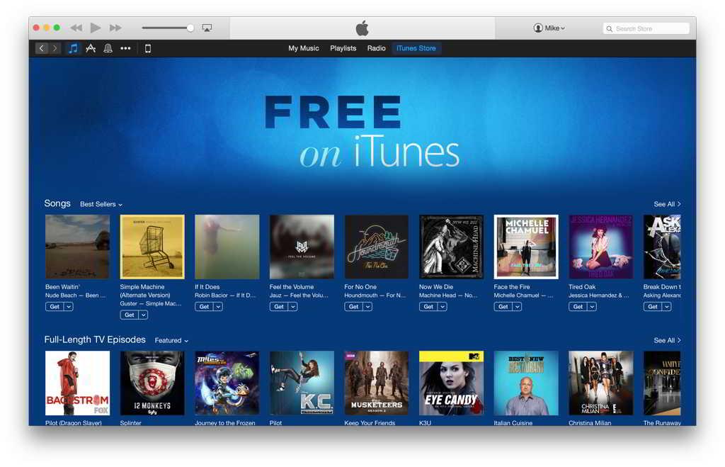 Gratuit in iTunes