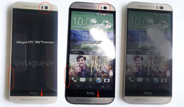 HTC ONE M9 vs HTC ONE M8